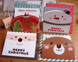 greeting cards small size santa cards