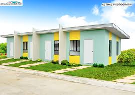 Row House Model - st joseph homes calamba allhouseandlotph house and lot for