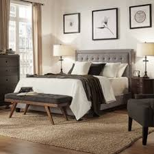 Upholstered Bedroom Furniture by Upholstered Beds You U0027ll Love