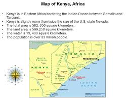 Eastern Africa Map by Kenya By Kenya Chestnut Ppt Download