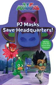 pj masks save headquarters book daphne pendergrass style