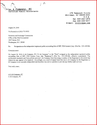resignation letter of auditor images letter format examples