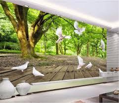 online get cheap home forest wallpaper aliexpress com alibaba group