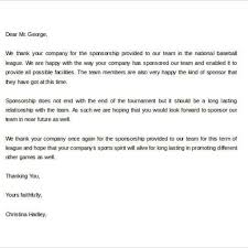 thanksgiving letter templates goodly sponsor thank you letter u2013 letter format writing