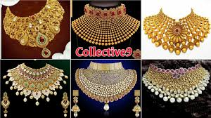 bridal choker necklace images Latest gold bridal choker necklace designs jpg