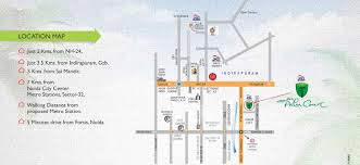 Greater Noida Metro Map by Overview Jkg Palm Court Jkg Construction Pvt Ltd At Sector