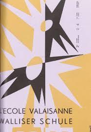 L Ecole valaisanne avril 1959 by Résonances mensuel de l Ecole