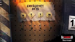 enchambered live escape room adventure brain teaser emergency keys