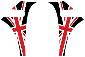 British Flag Shirts Mini Cooper British Flag Union Jack Red White Black A Panel Decals