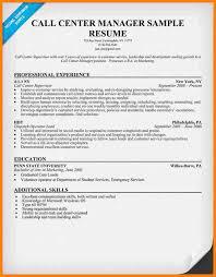 Penn State Resume 9 Call Center Resume Cinema Resume