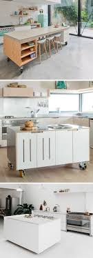 mobile kitchen island units best 25 moveable kitchen island ideas on movable