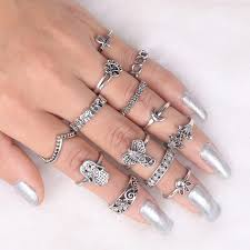 midi rings set online shop if me 13pcs set midi rings set for women antique