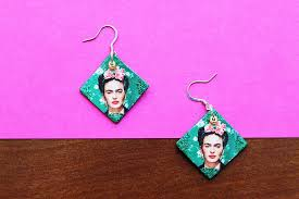 frida earrings diy frida kahlo earrings fashion beauty tips advice me