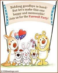farewell party invitation farewell party invitation free save the date ecards greeting