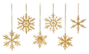 snowflake ornaments gold snowflake ornaments jayson home