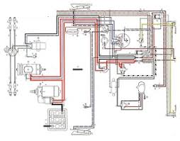 vw beetle 1200 wiring diagram 1958 u2013 1959