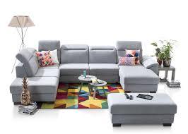 ottomane canapé canapé d angle dax ottomane à gauche et méridienne droite tissu