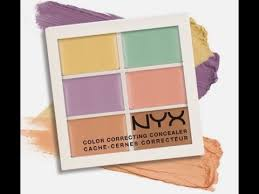 nyx colour correcting concealer palette nyx color corrector concealer palette me cover my spots