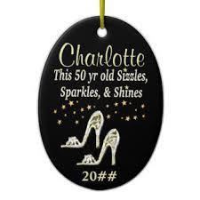 50th birthday ornaments keepsake ornaments zazzle