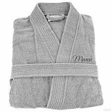 robe de chambre homme personnalisé personnalisable peignoir de bain personnalisé adulte homme et femme