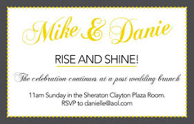 wedding brunch invitations wording post wedding brunch invitations post wedding brunch invitations