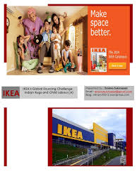 ikea case study ppt supply chain economies