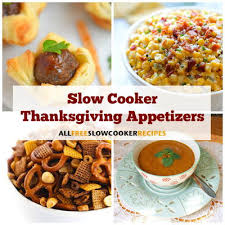 16 cooker thanksgiving appetizers allfreeslowcookerrecipes