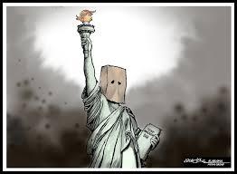 Alabama travel ban images Trump immigration ban hang in there lady liberty jpg