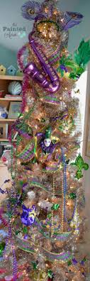 mardi gras tree decorations creations mardi gras tree the painted apron