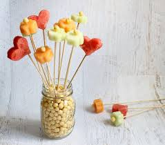 how to make a fruit bouquet fruit and kix flower bouquet for kix cereal