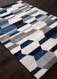 Blue Area Rug Amazing Area Rugs Awesome White And Blue Rug In Design 11