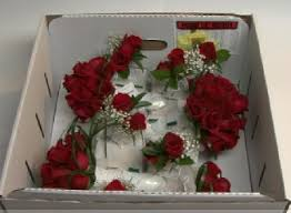 mail flowers something white mail order wedding flowers