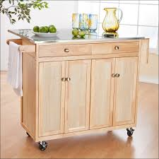 mainstays kitchen island cart white microwave cart simple home source brook white and cherry