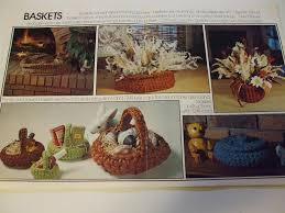 Crochet Patterns For Home Decor Crochet For Home Decor 19 Designs Patterns Large Cord Macrame 1977