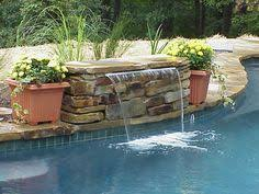 diy pool waterfall diy pool waterfall pinteres
