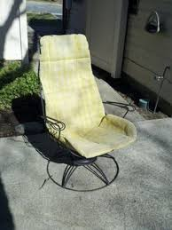 1960s Patio Furniture 10 Happy And Affordable Outdoor Spaces Gliders Patios And 1960s