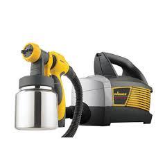 paint sprayer wagner hvlp control spray max paint sprayer qvc com
