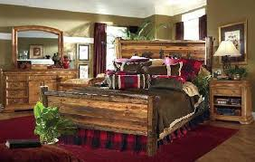 Rustic Log Bedroom Furniture Bedroom Furniture Rustic Interior Design