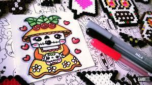 halloween drawings how to draw cute jack skellington by garbi kw