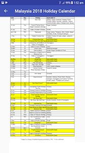 Kalender 2018 Hari Raya Puasa Malaysia 2018 Calendar 1 22 Apk Android Tools Apps