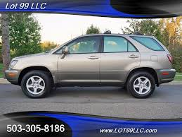 lexus rx300 vin number 1999 lexus rx 300 heated leather suv for sale in milwaukie or