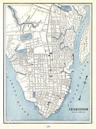 Charleston Trolley Map Map Of Charleston South Carolina Georgia Map