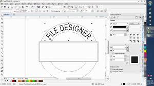 membuat poster dengan corel draw x7 09 coreldraw x7 tutorials in hindi file menu edit menu