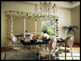 mirror dining room table large dining room wall mirrors a huge and glamorous mirror the