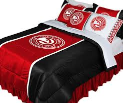 Bedroom Sets Atlanta Nba Atlanta Hawks Comforter Set Basketball Bedding Contemporary