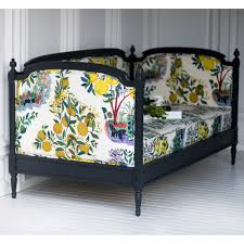 lovely louis upholstered daybed by the beautiful bed company