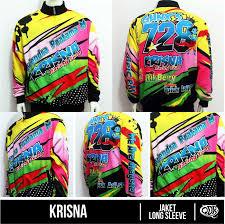 desain jaket racing jaket basic sublim krisna sublimation print by qita design drag