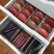 luxury acrylic blush organizer designed for ikea vanity