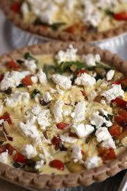 cuisine quiche vegetarian mediterranean quiche recipe popsugar food