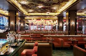 incredible interior of fish restaurant london the luxpad